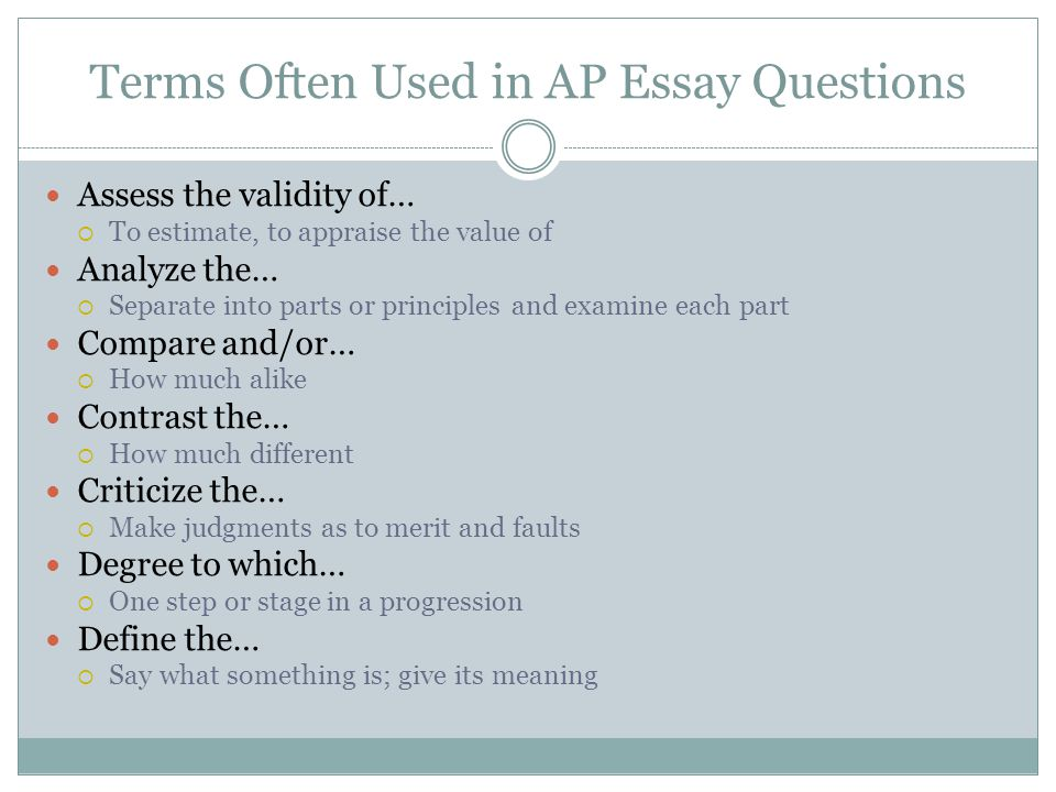 ap american history frq how Sample dbqs, frqs, and essays.