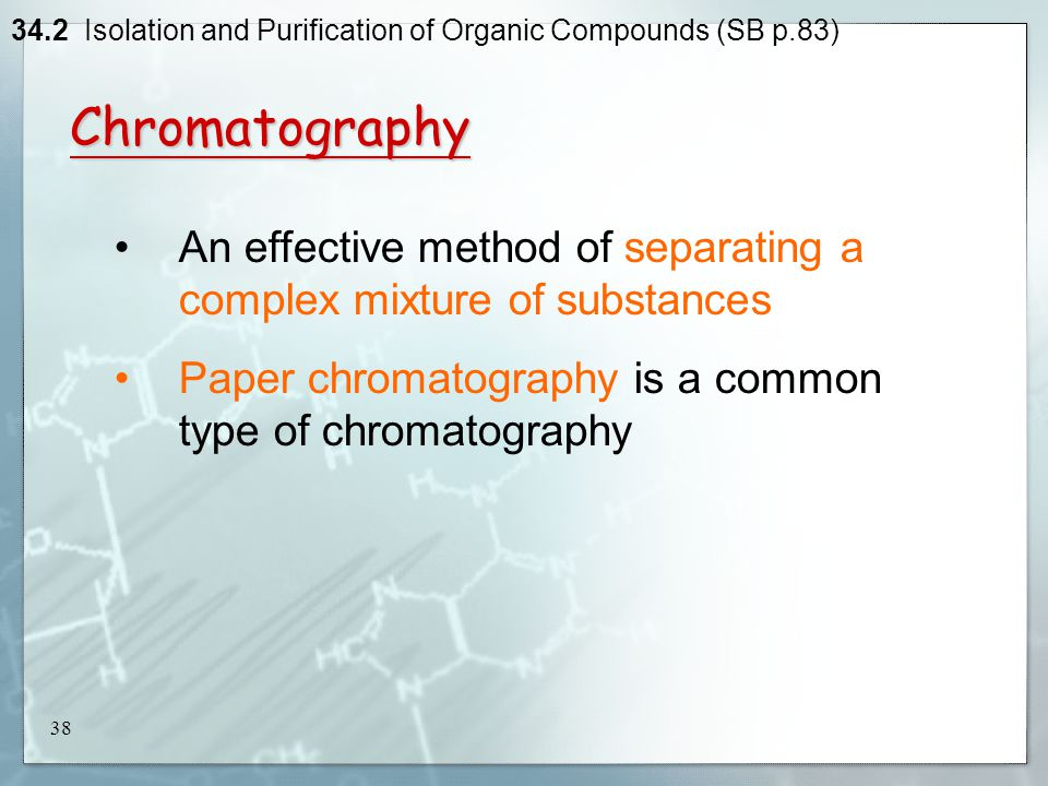 thesis on isolation of compounds