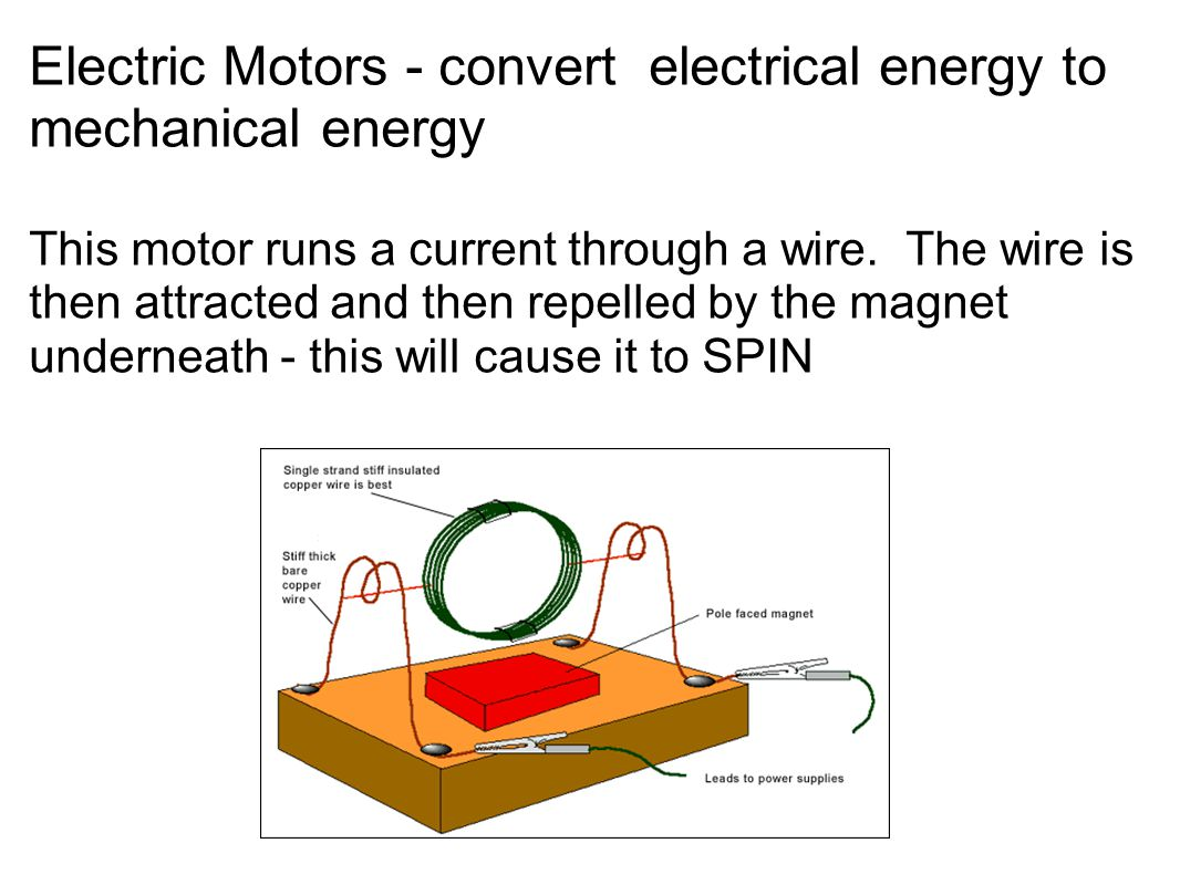 Electrical Mechanical Energy : Magnetism ppt download