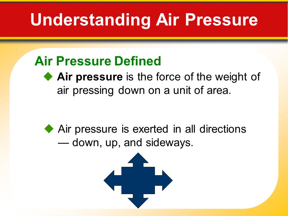 EARTH SCIENCE Air Pressure and Wind. - ppt download