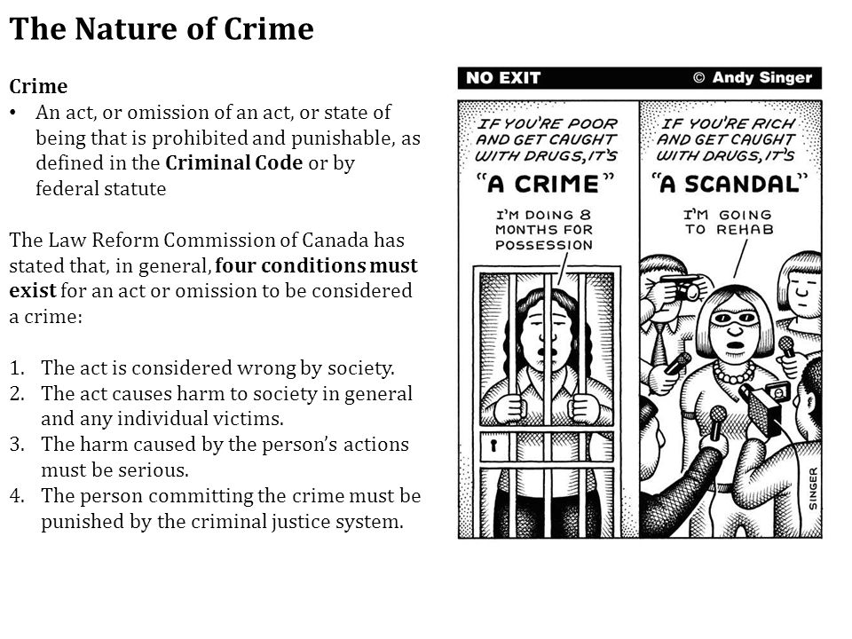 the nature of crime Assess sociological contributions to our understanding of the nature of  environmental crime ulrich beck argues that in today's late modern society we  can now.