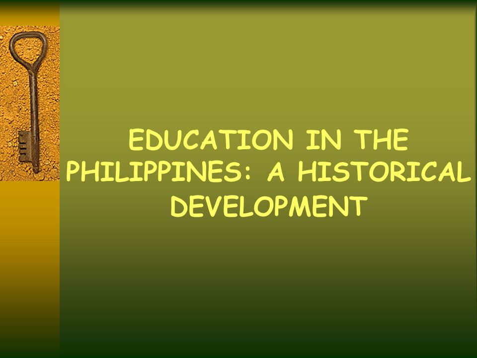 history of education in the philippines pdf