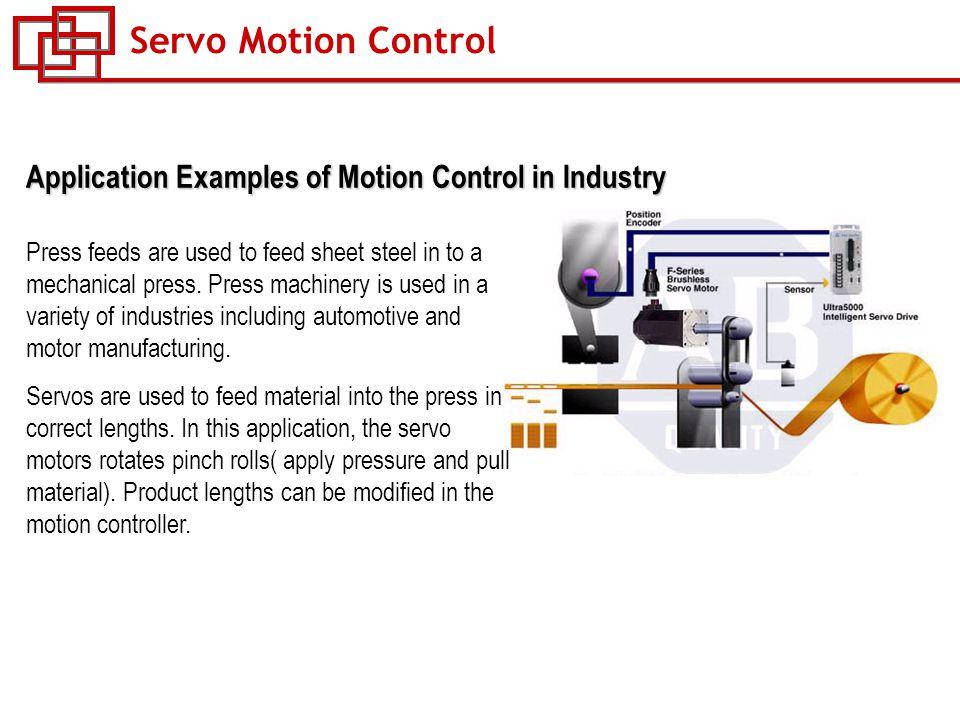 Flux vector ac drive control vs servo drive control ppt for Industrial servo motor tutorial