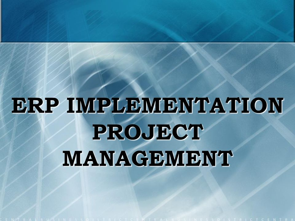 erp project manager Apply to 1606 erp manager jobs on naukricom, india's no1 job portal explore erp manager openings in your desired locations now.