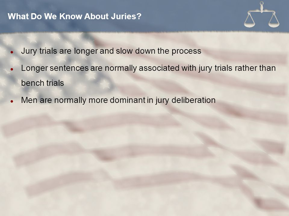 What Do We Know About Juries