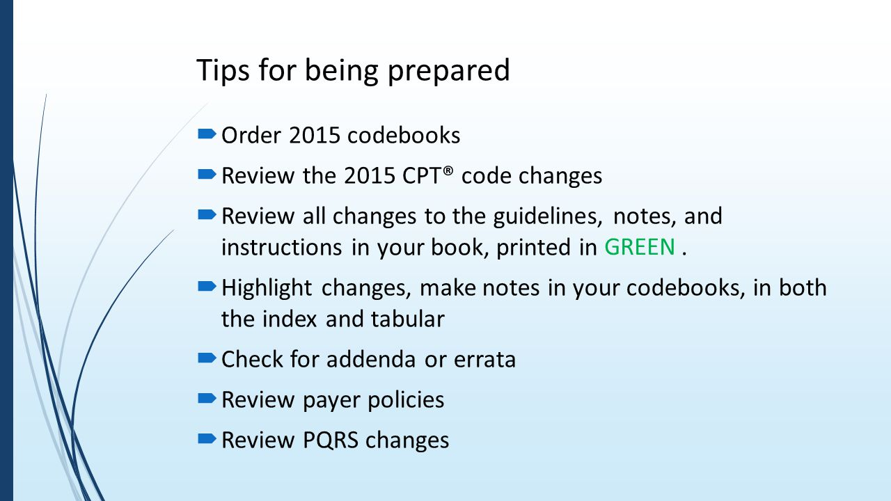 100 tips for icd 10 pcs coding - Tips For Being Prepared