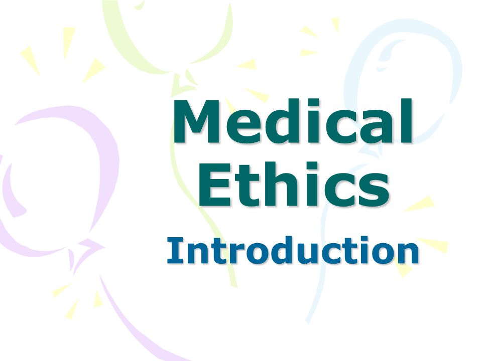 why ethics is important in medical Being ethical is important to me not as a right or wrong issue but a strong versus weak issue when i am ethical i am much stronger and able to.