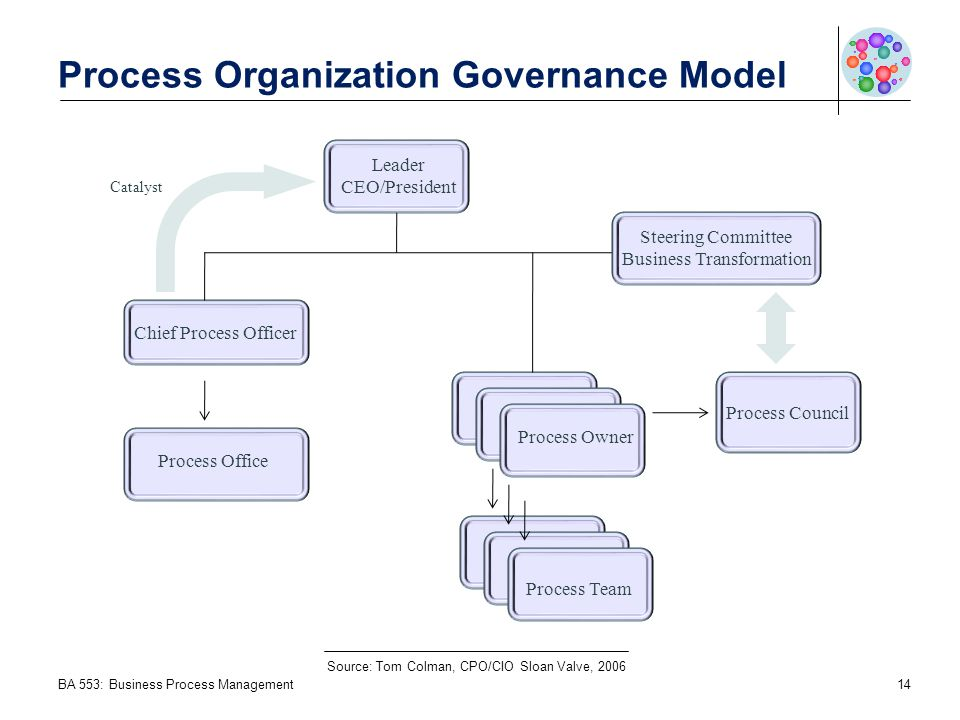 Process Organization Governance Model