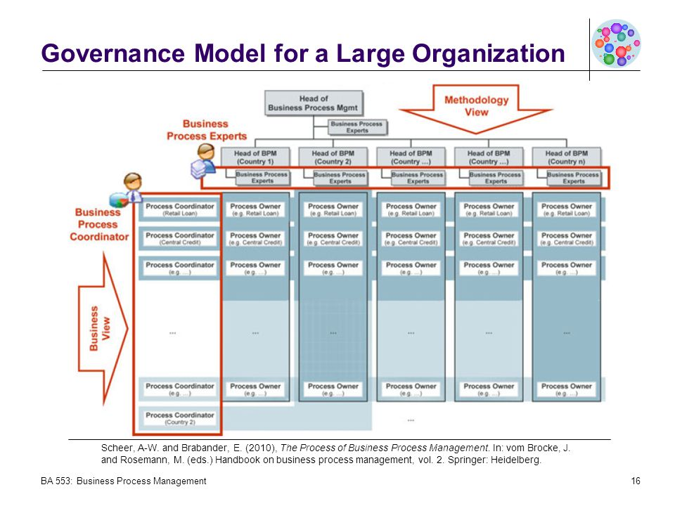 Governance Model for a Large Organization