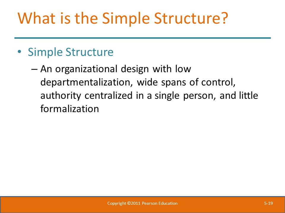 What is the Simple Structure