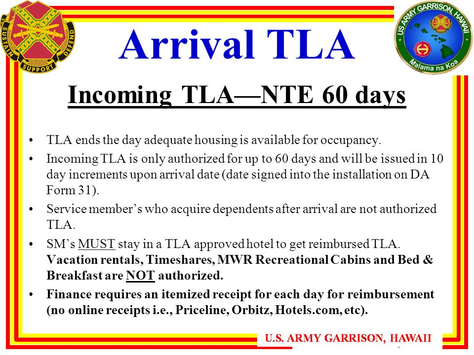 Arrival Tla Incoming Nte 60 Days