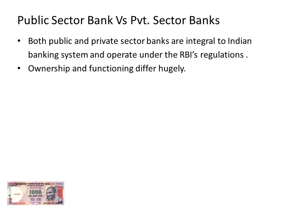 Role of Public Sector and Private Sector in India