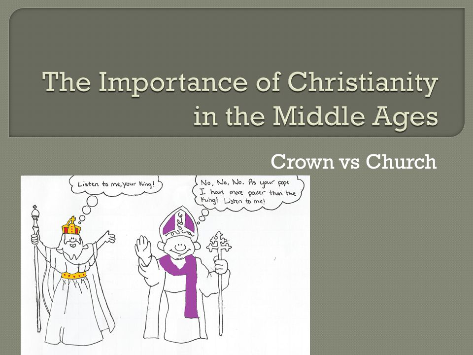 christinaity in middle ages essay
