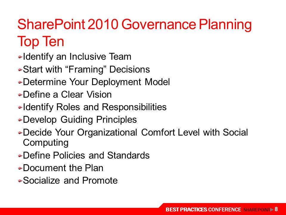 Planning for Governance - ppt download