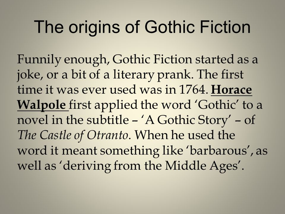 introduction to gothic literature - ppt video online download, Powerpoint templates