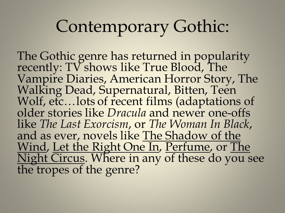 american gothic introduction Following the structure of other titles in the continuum introductions to literary genres series, american gothic fiction includes: a broad definition of the genre and its essential elements.