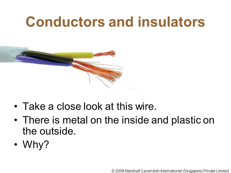 What Are Some Conductors : Conductors of electricity ppt video online download