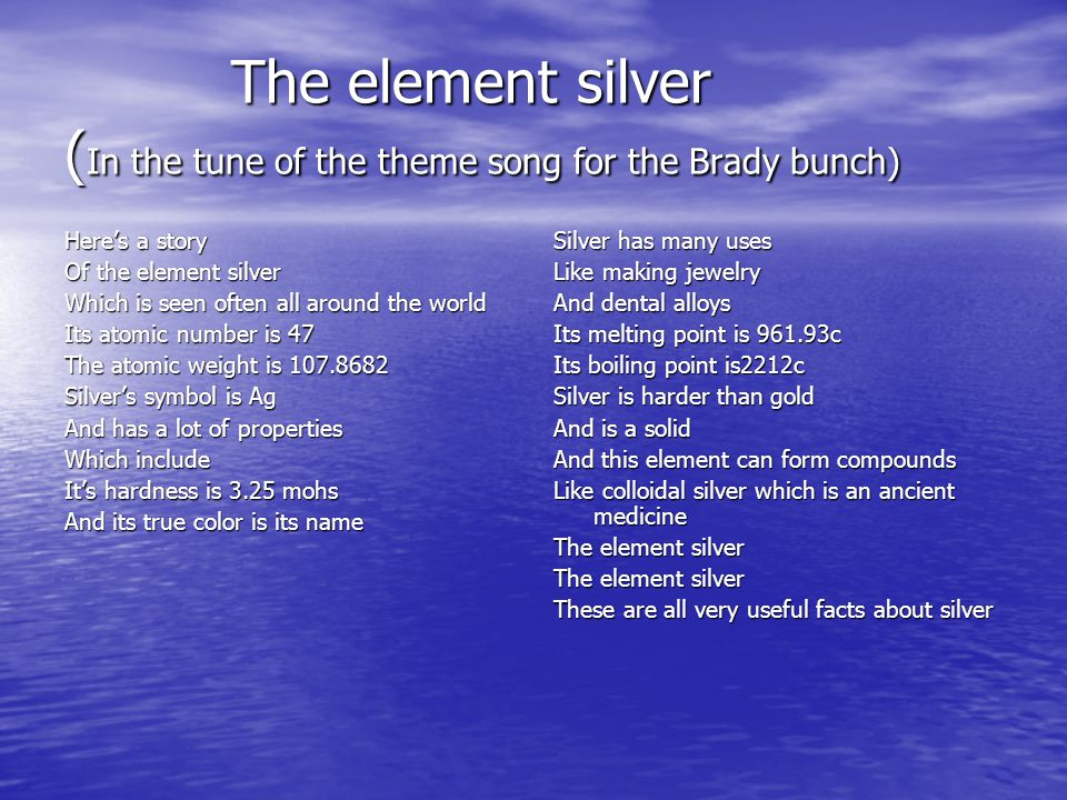 Periodic table silver on the periodic table facts periodic table periodic table silver on the periodic table facts the element silver by kyleen overstreet urtaz Image collections