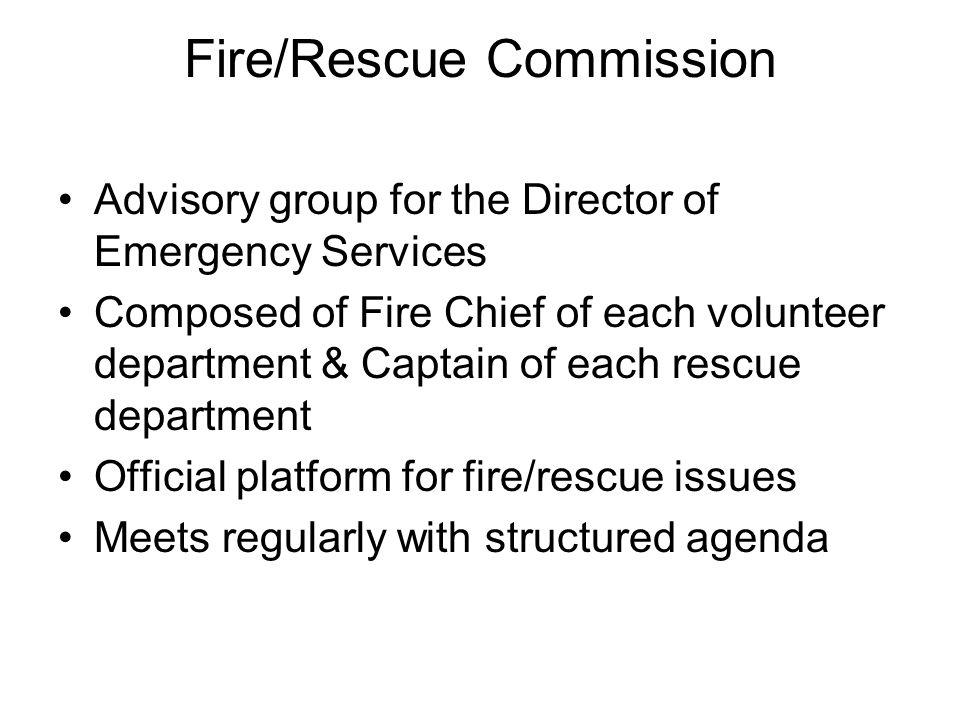 Fire/Rescue Commission