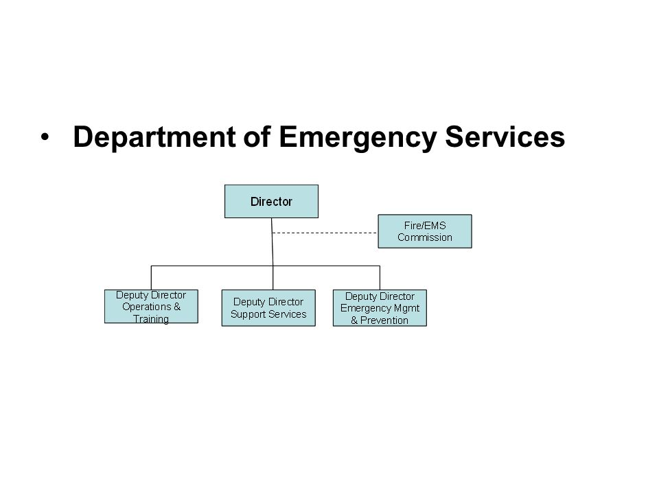 Department of Emergency Services