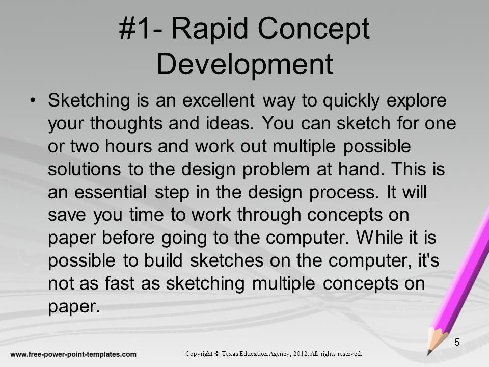 #1- Rapid Concept Development