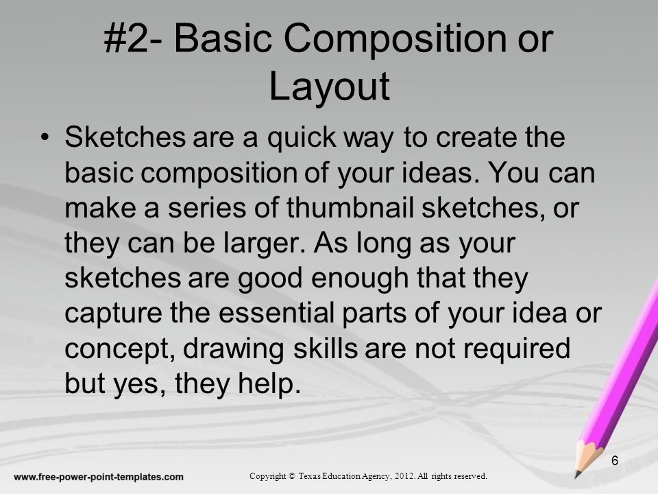 #2- Basic Composition or Layout