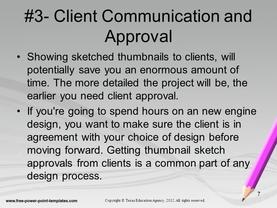 #3- Client Communication and Approval