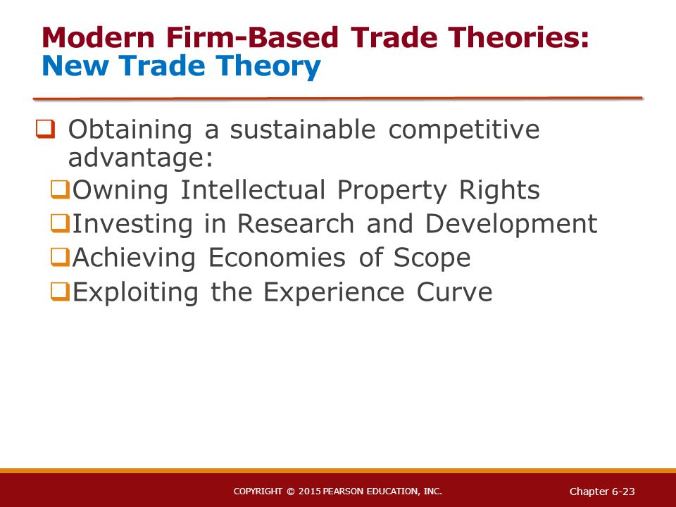 new trade theory first mover advantage First-mover advantages from pioneering first-mover advantage that helps we survey empirical evidence of first-mover advantages from pioneering new.