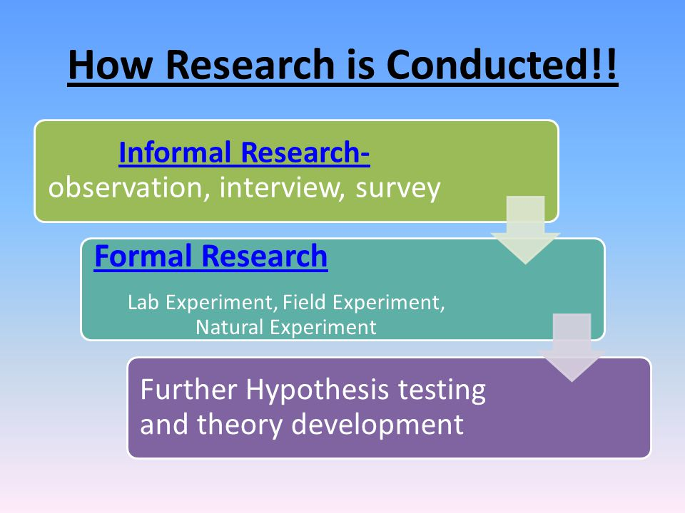 What is the difference between applied research and basic research?