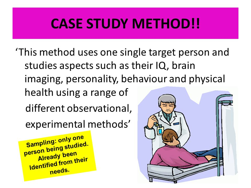 Case study writers method of research ppt