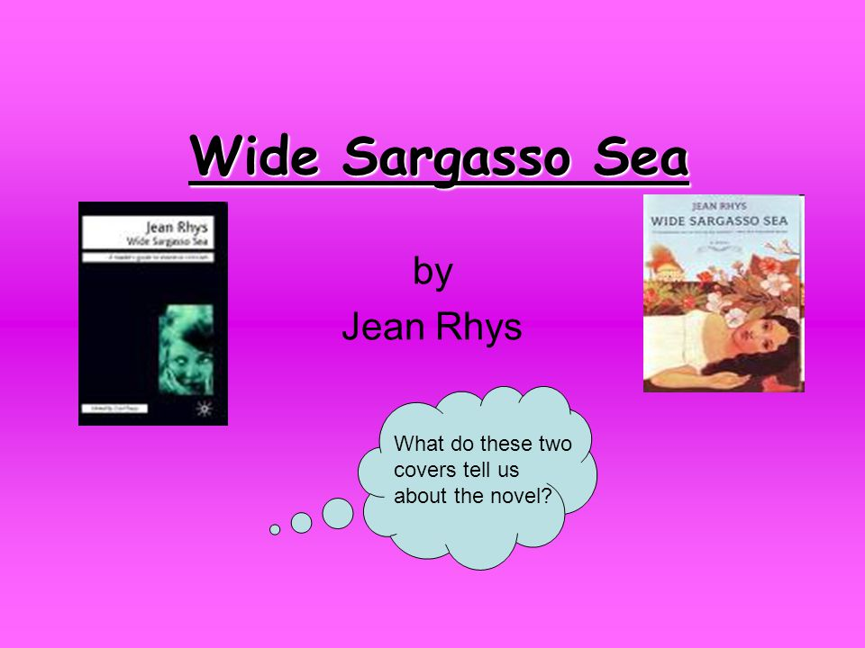 wide sargasso sea by jean rhys what do these two covers tell us  wide sargasso sea by jean rhys what do these two covers tell us