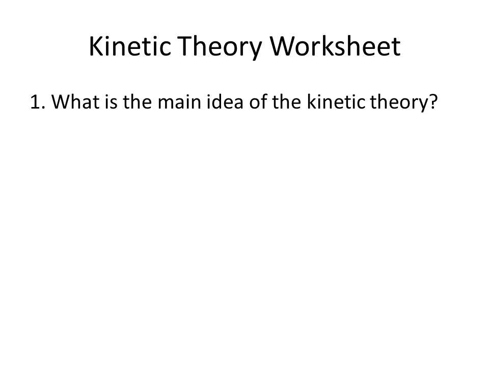 Kinetic Theory Of Matter Worksheet Photos Gavilles – Bill Nye Matter Worksheet