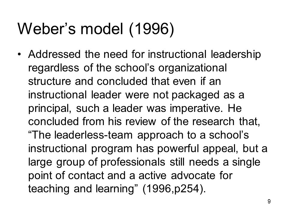 what is an instructional leader