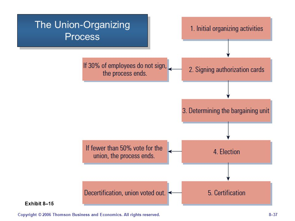 union management and organization In this chapter, we consider us labor-management experiments with two institutions through which strategic participation for unions might be realized: negotiated union-management partnership.