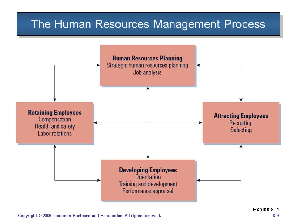 The Human Resources Management Process