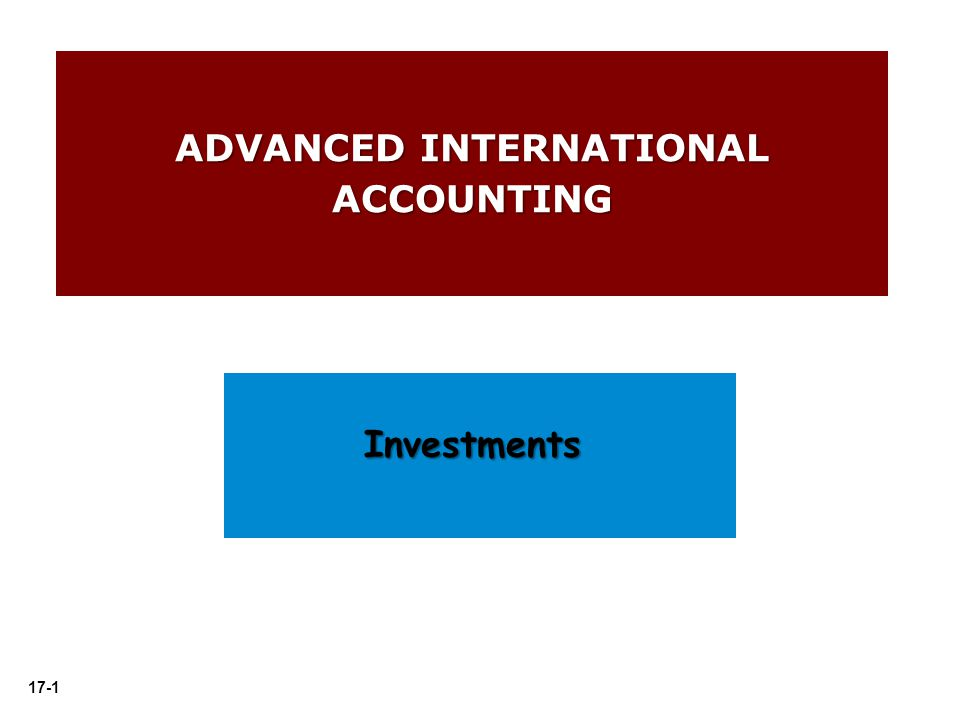 international accounting Financial statement effects of adopting international accounting standards: the  case of germany.