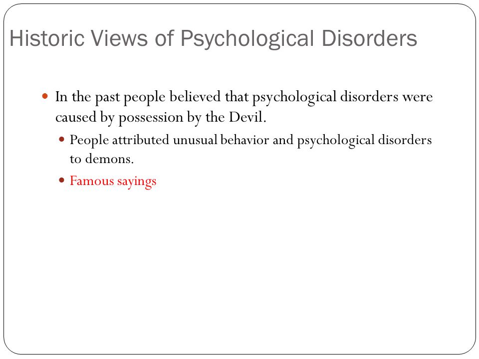 Warm Up KWL Chart What Do You Know About Psychological Disorders