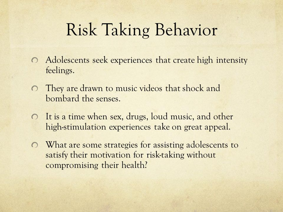 risk taking behaviors A part of the brain associated with seeking rewards is more stimulated in patients with bipolar disorder, which may explain risk-taking behavior.
