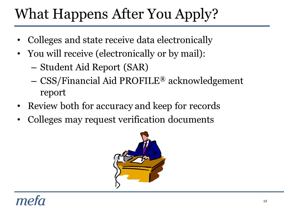 What Happens After You Apply