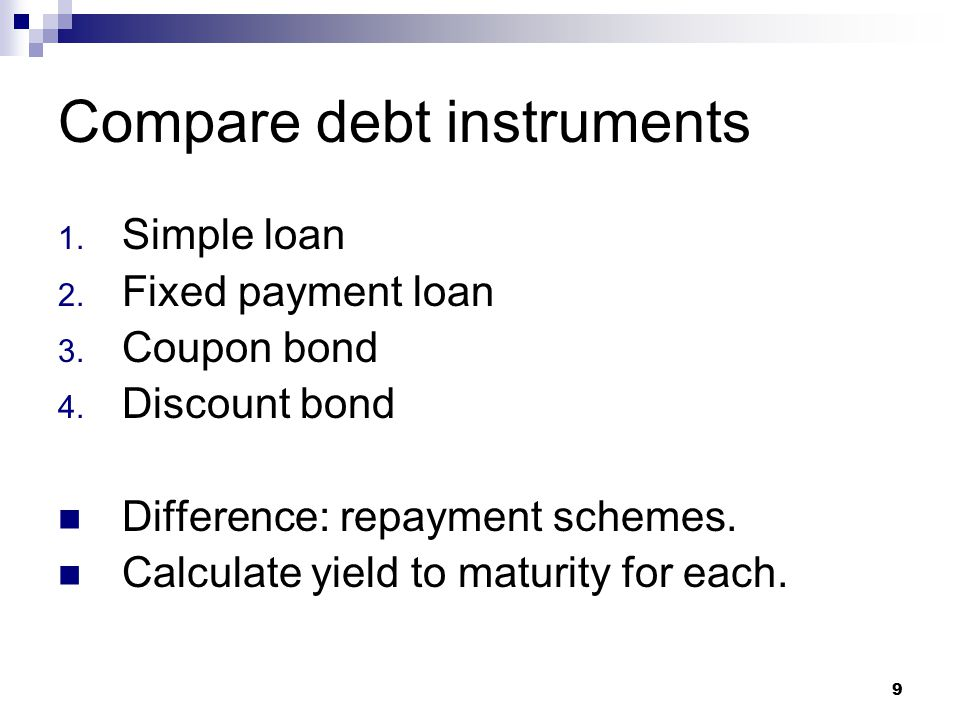 What are the differences between the bond's coupon rate current yield and yield to maturity
