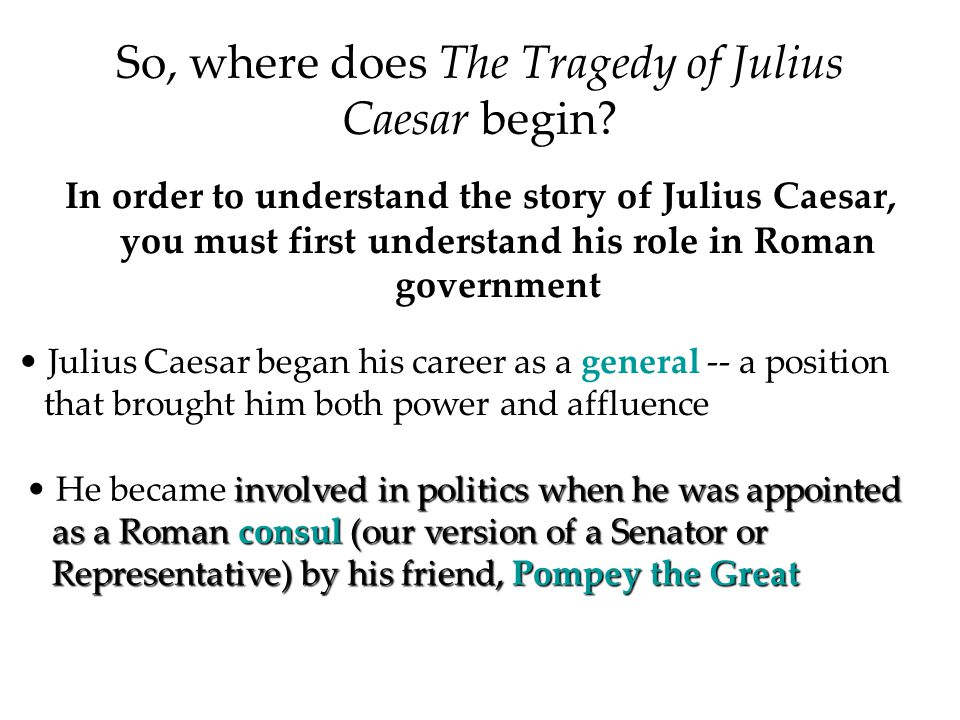 the successful career of julius caesar in rome Fall of rome (rome after julius caesar's death)  thus ending his political career  he is described to be not as a great as caesar, but more successful in.