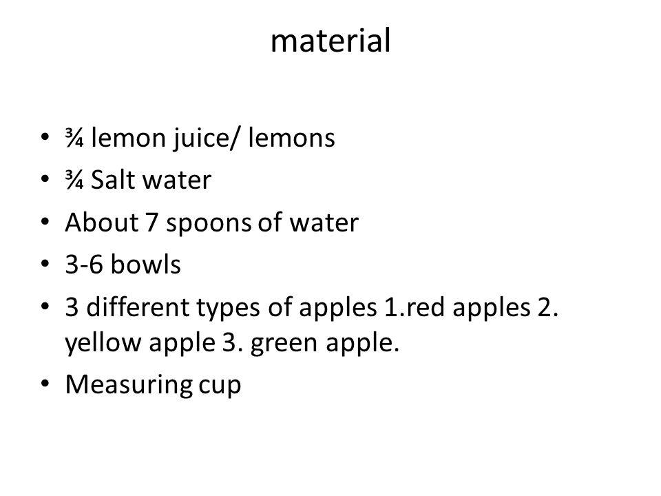 effect lemon water