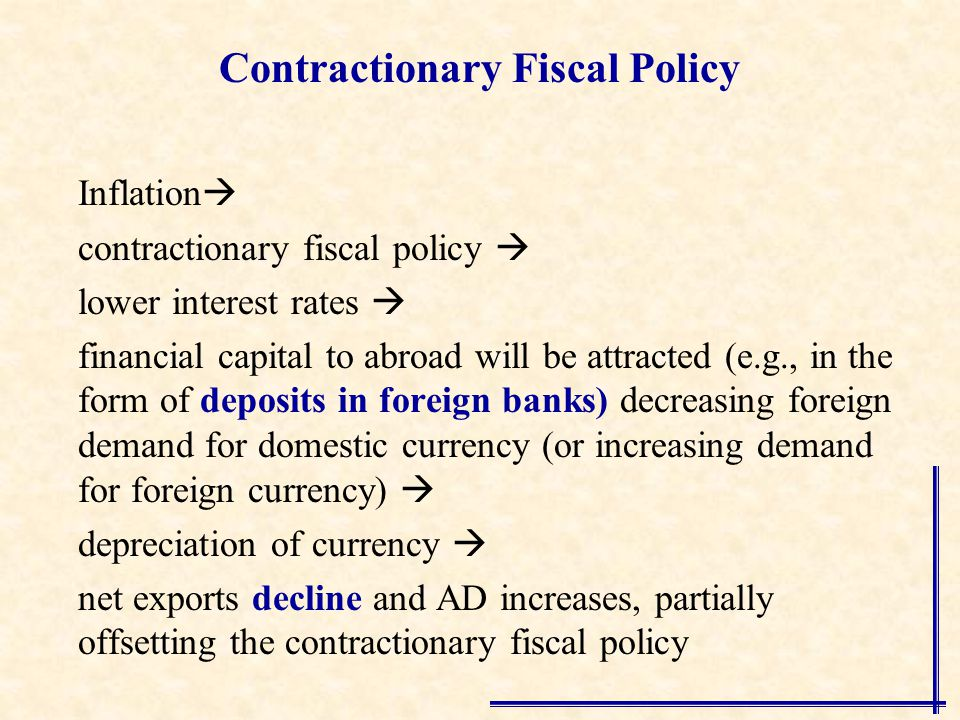 contractionary and extractionary policies China's fiscal policy remains supportive for economic growth this year despite a  rare cut in the government's budget deficit target, finance.