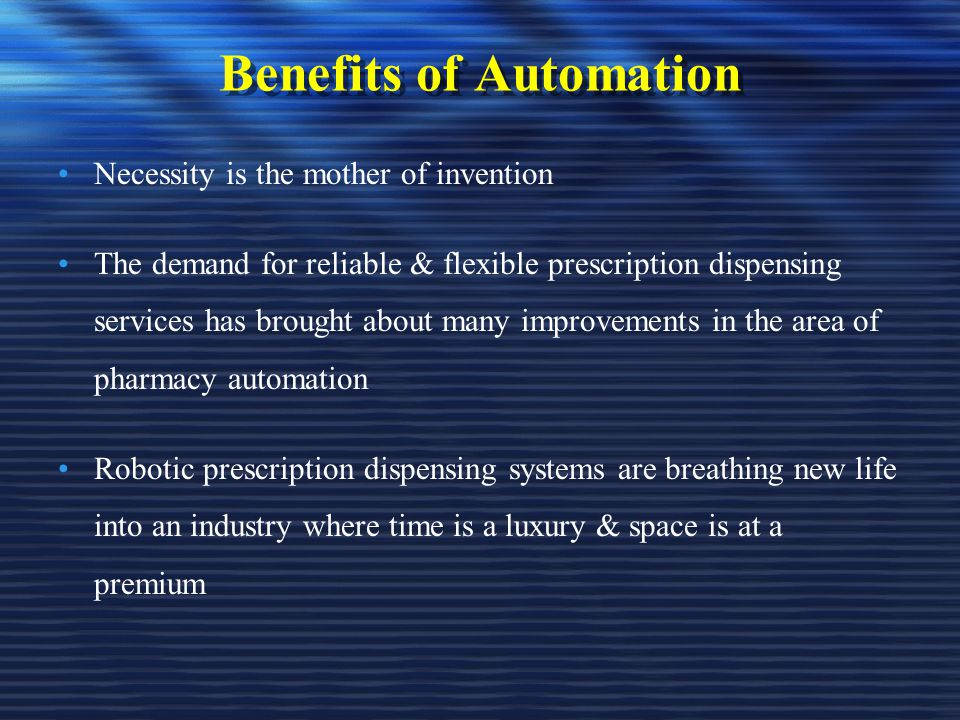 automation in it industry uses and benefits Over the near term, industrial automation will continue to offer the most viable   we think that among the sectors that will stand to benefit the most from this will be :  automation – the use of automatic equipment in manufacturing and other.