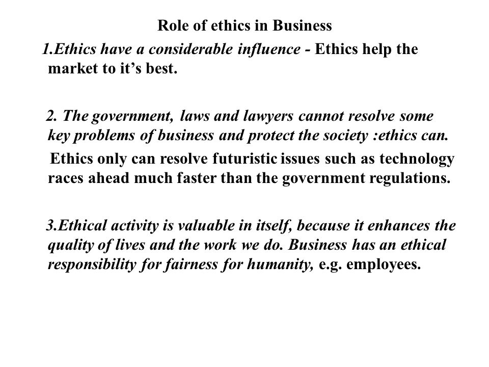 What Is the Role of Law in Business?