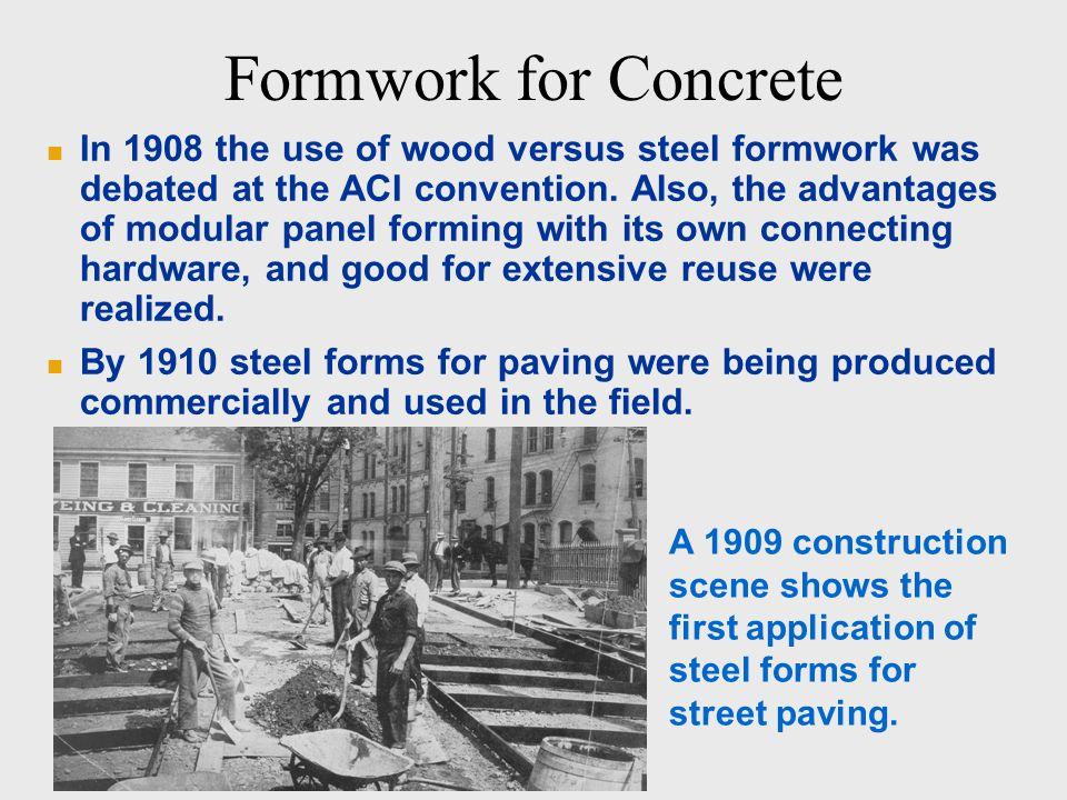 aci formwork for concrete pdf