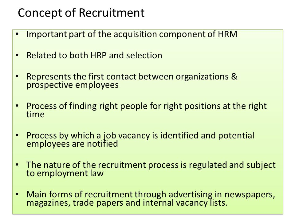 the importance of recruitment and selection of sales essay Recruitment and selection – the most important hr function home » blog » blog » recruitment and selection – the most important hr function recruitment and.