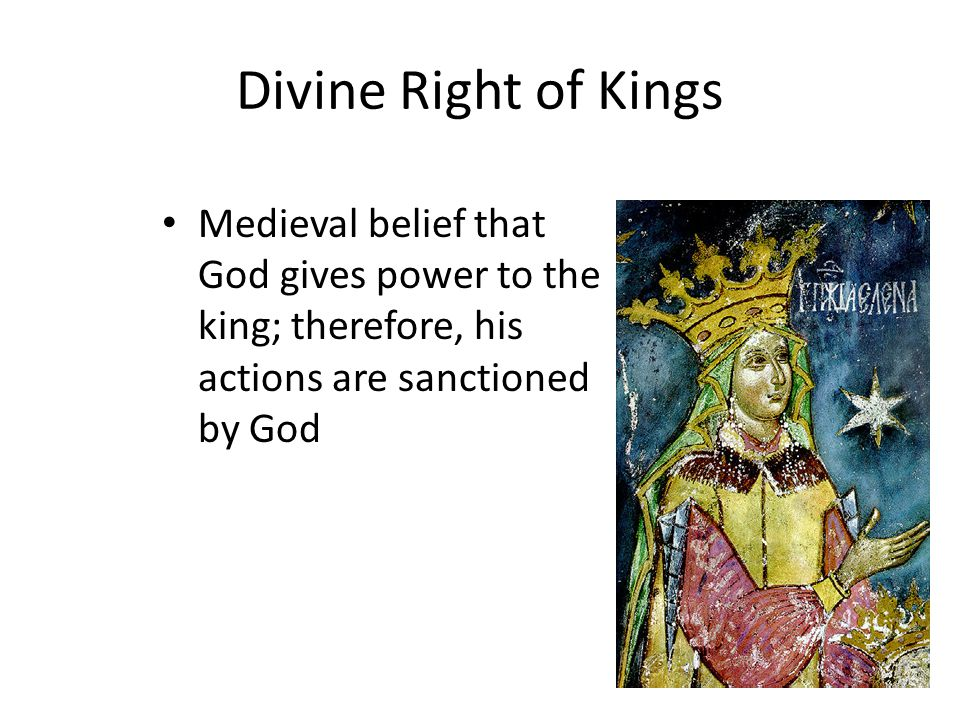 divine rights of kings