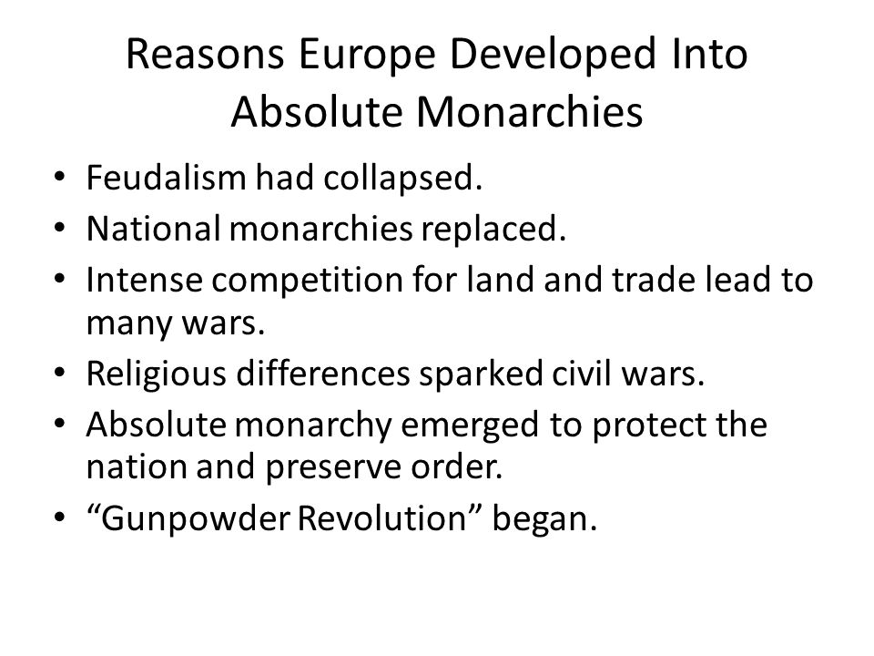 the differences between he enlightened despots and the unenlightened morachs of the past Enlightened despotism is when there from earlier unenlightened monarchs of the past example of the enlightened despot he was familiar with the ideas of.