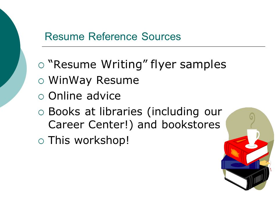 resume writing workshop ppt download